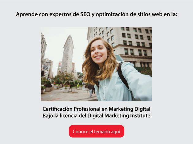 Certificación Profesional en Marketing Digital