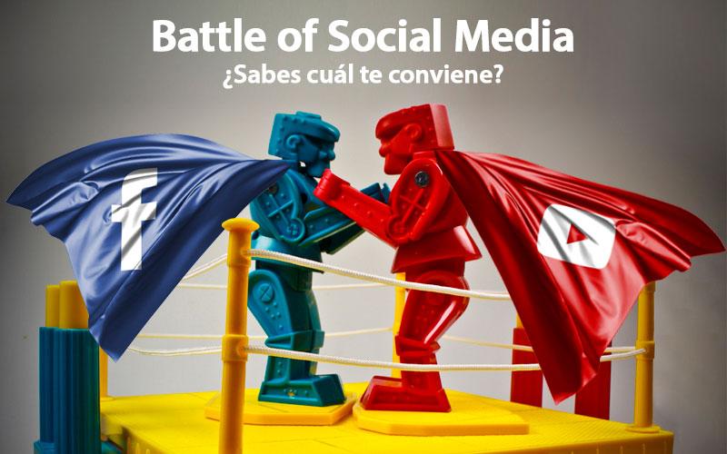 Battle of Social Media